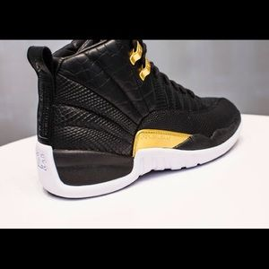 womens jordan retro 12s, genuine leather